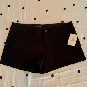 NWT Volcom Black Womens Shorts
